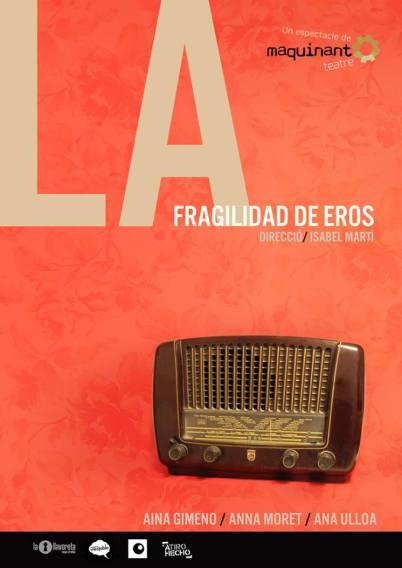 cartel La fragilidad de Eros